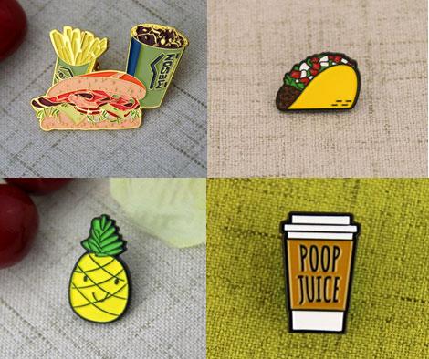 food pins