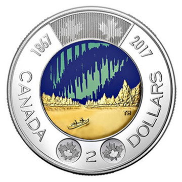 2017 Canada's 150th Anniversary Commemorative Coin