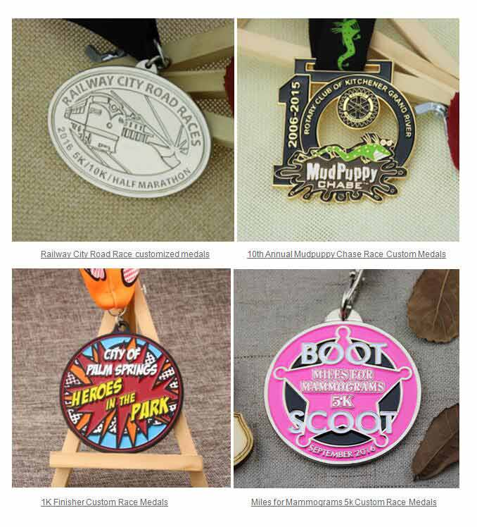 Race Medals: