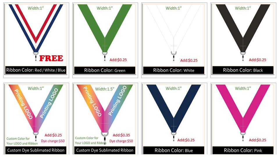 Ribbon colors 1