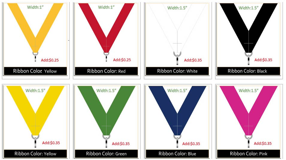 Ribbon colors 2