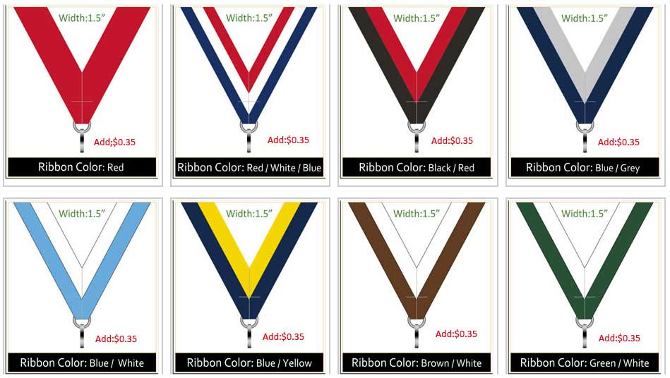 Ribbon colors 3