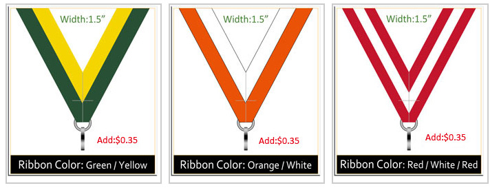 Ribbon colors 4