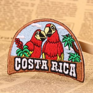 Costa Rica Custom Patches