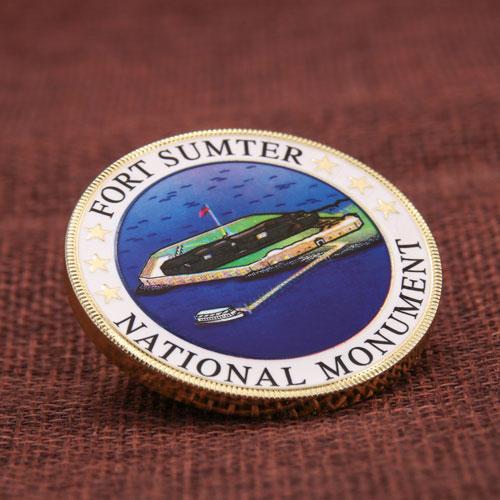 Fort Sumter Challenge Coins