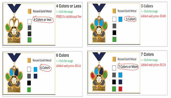 Less Color VS. More Color