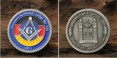 Custom Masonic Medals