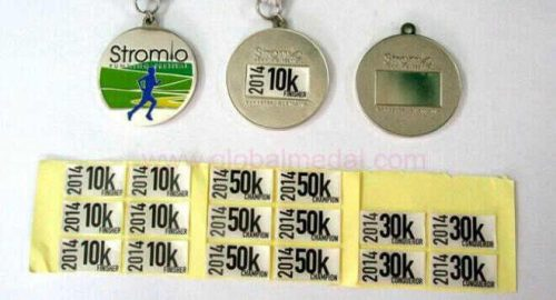 Medals with Sticker