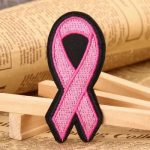 Pink Ribbon Custom Patches