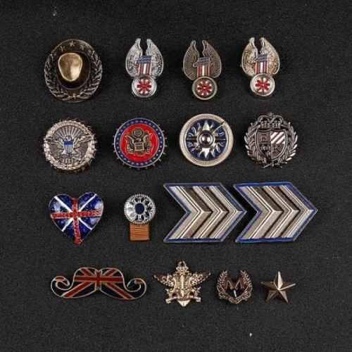 Retro series custom pins