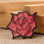 Rose Enamel pins
