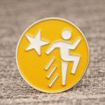 Running Man custom enamel Pins