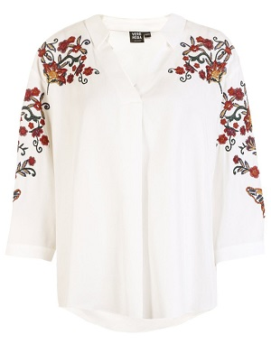 embroidered patches shirt