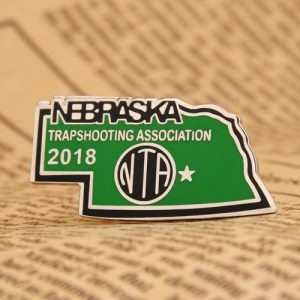 Trapshooting Association personalized pins