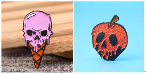 Cute punk pins