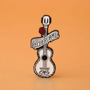 Guitar personalized pins