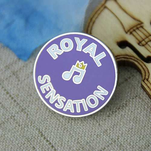 Music custom lapel pins