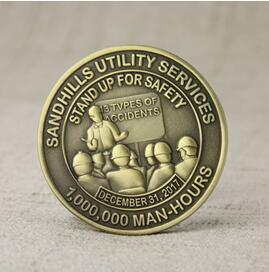 Safety challenge coins from GS-JJ