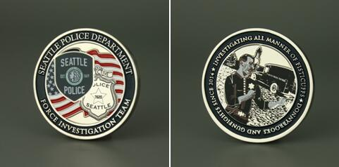 Seattle Police Challenge Coins