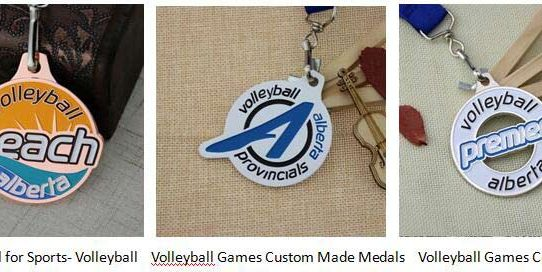 Volleyball Medals Products