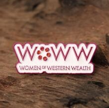 Corporate lapel pins for women