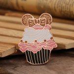 Cupcake Custom Enamel Pins of GS-JJ