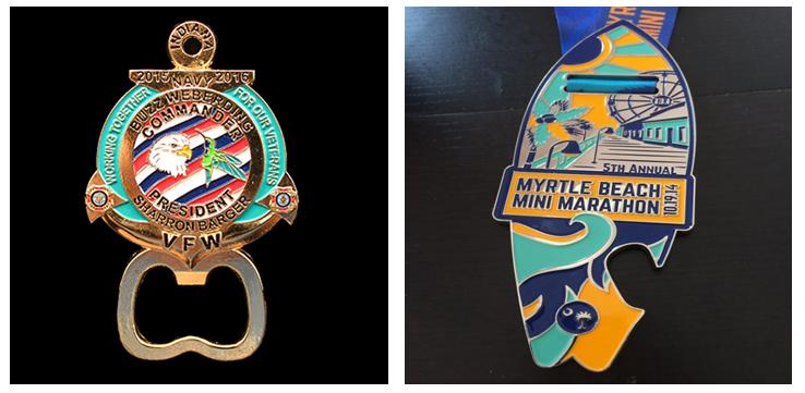 Custom Bottle Opener Medals | Personalized Bottle Opener