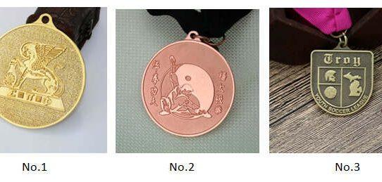 Different Sandblast Medals