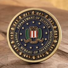 FBI Law Enforcement Challenge Coins