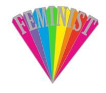 Feminist lapel pins _ GS-JJ