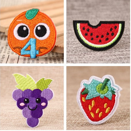 Fruit custom made patches
