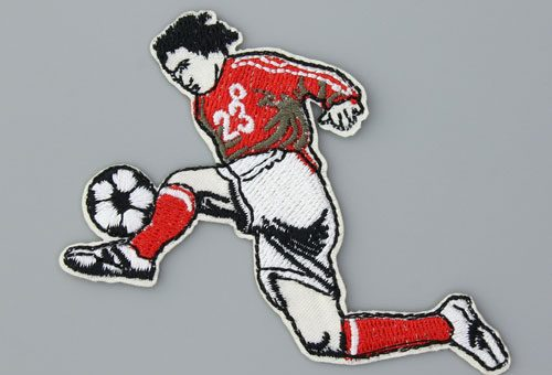 soccer custom patches