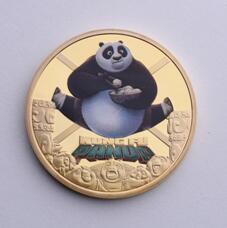 Kung Fu Panda challenge coins