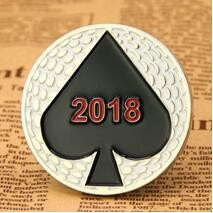 Poker challenge coins