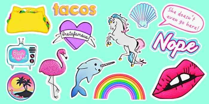 Recreation stickers