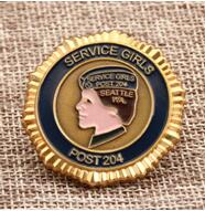 Service Girl challenge coin