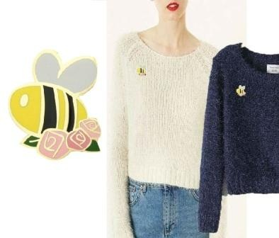 (The Bee Lapel Pins of GS-JJ)