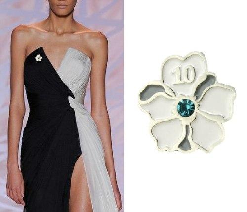 (The Flower Custom Enamel Pins of GS-JJ)