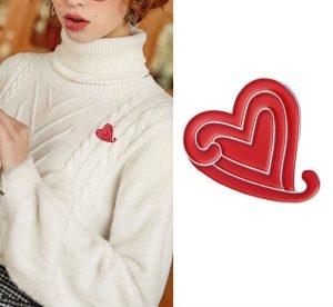 (The Heart Custom Pins of GS-JJ)