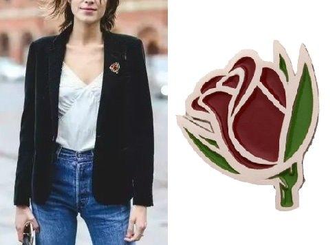 (The Rose Custom Pins of GS-JJ)