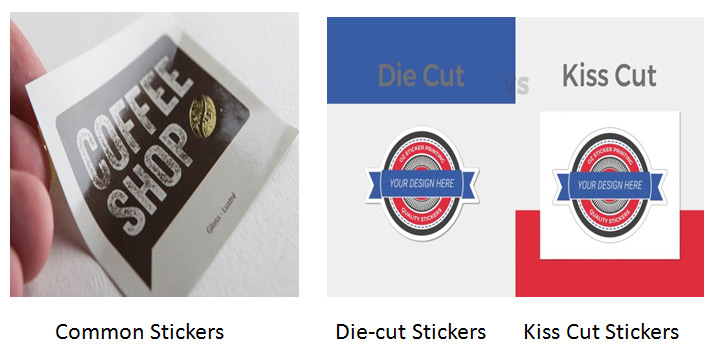 Types of stickers