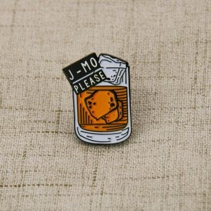 Welsh wine cup custom pins