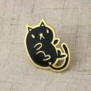 Black Cat Lapel Pins