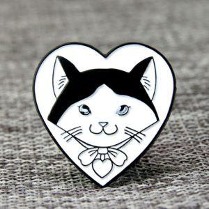 Cat Design Enamel Pins
