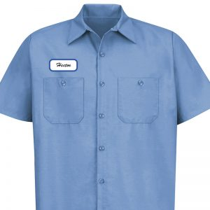 Name Patches shirt