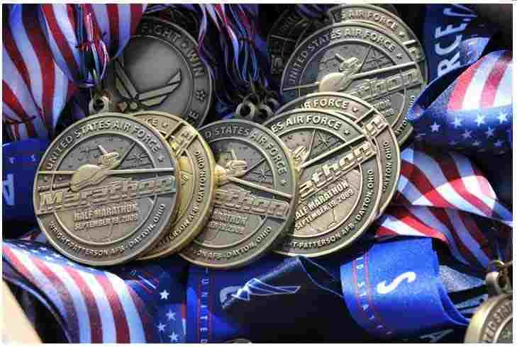 Marathon Running Medal