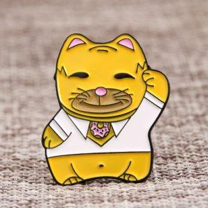Mr. Cat Custom Enamel Pins