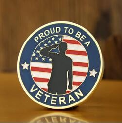 Veterans Day Custom Challenge Coins