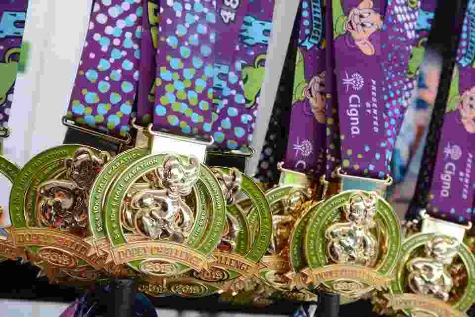 WDW Marathon Dopey Challenge Medals