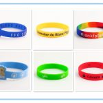 Various Custom Silicone Wristbands